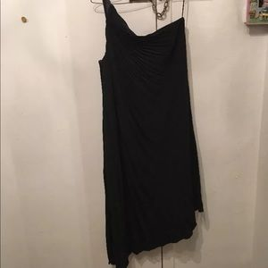 Dior Dresses - CHRISTIAN DIOR PLEATED ONE SHOULDER DRESS